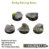 Rocky Outcrop bases - round 25mm