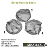 Rocky Outcrop bases - round 60mm 3