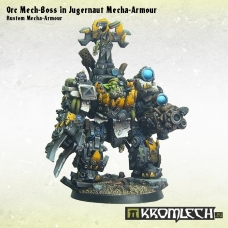 Orc Mech-Boss in Kustom Mecha-Armour