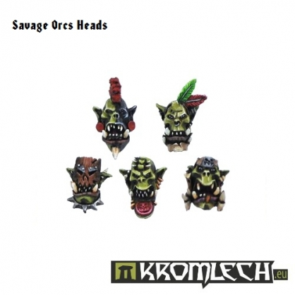 Savage Orc Heads