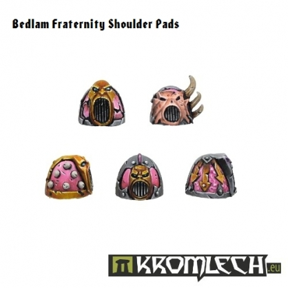 Bedlam Fraternity Shoulder Pads