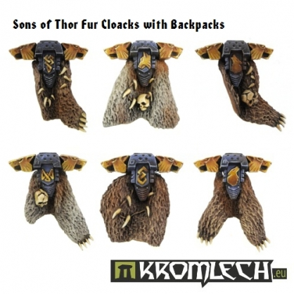 Sons of Thor Fur Cloacks & Backpacks