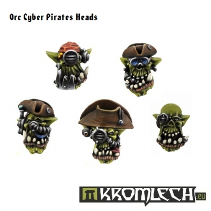Cyber Pirates Heads