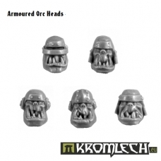 Armoured Orc Heads