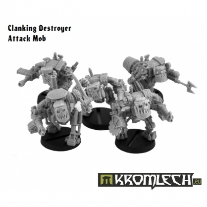 Clanking Destroyer Attack Mob