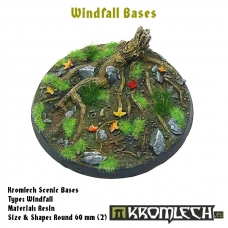 Windfall bases - round 60mm 2