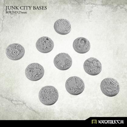 Junk City Bases - round 25mm