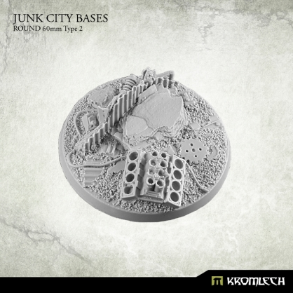 Junk City Bases - round 60mm 2