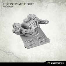 Legionary APC turret: Twin Minigun