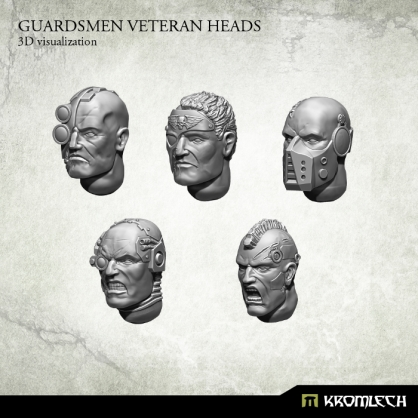 Guardsmen Veteran Heads