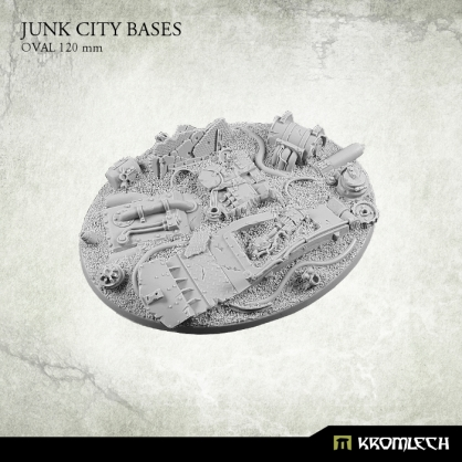 Junk City Bases - oval 120 mm