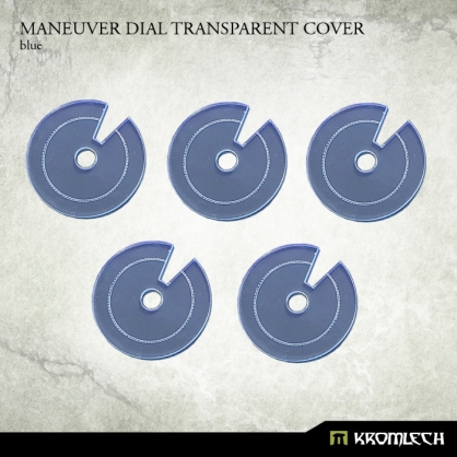 Maneuver Dial Transparent Cover [blue]