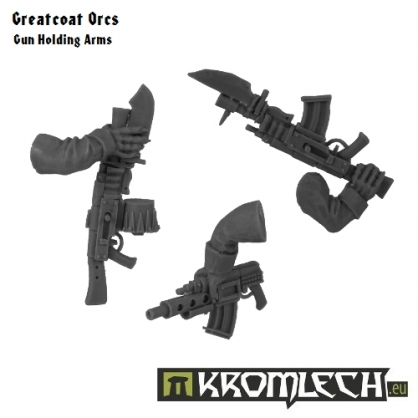 Greatcoats Gun Holding Arms