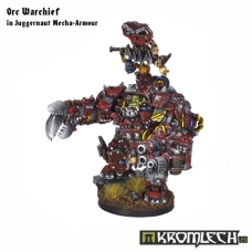 Orc Warchief in Juggernaut Mecha-Armour