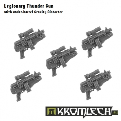Legionary Thunder Gun with under-barrel Gravity Distorter