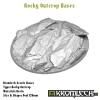 Rocky Outcrop bases - oval 120mm