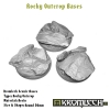 Rocky Outcrop bases - round 50mm