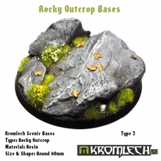 Rocky Outcrop bases - round 60mm 2