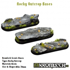 Rocky Outcrop bases - bike 70mm