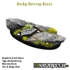Rocky Outcrop bases - oval 75mm