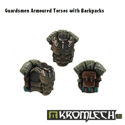 Guardsmen Armoured Torsos & Backpacks
