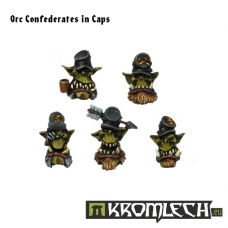 Orc Confederates Heads