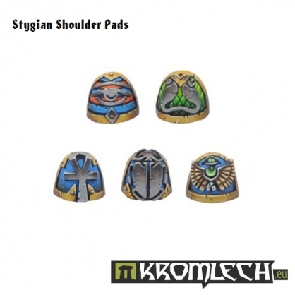 Stygian Shoulder Pads