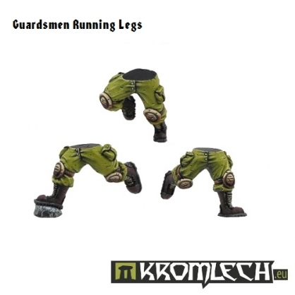 Running Guardsmen Legs