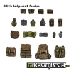 Militia Backpacks & Pouches