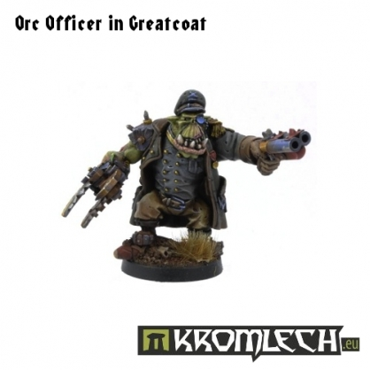 Orc Officer in Greatcoat