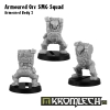 Armoured Orc SMG Squad