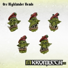 Orc Highlander Heads
