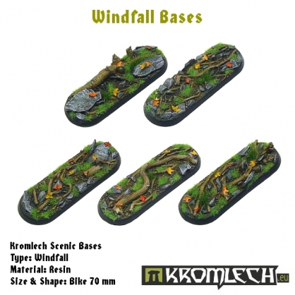 Windfall bases - bike 70mm