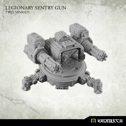 Legionary Sentry Gun: Twin Minigun