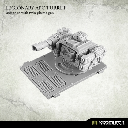 Legionary APC turret: Lascannon with twin plasma gun