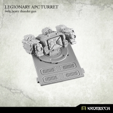 Legionary APC turret: Twin Heavy Thunder Gun