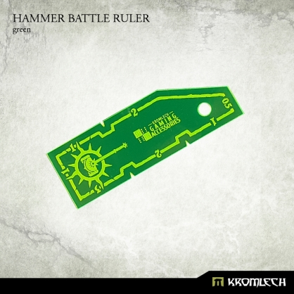 Hammer Battle Ruler [green]