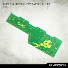 Bedlam Fraternity Battle Ruler [green]