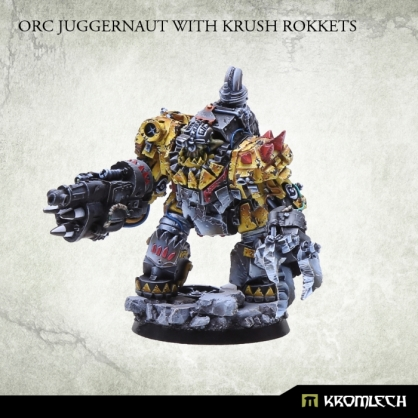 Orc Juggernaut with Krush Rokkets