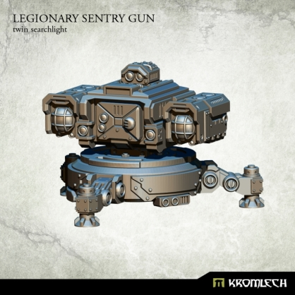 Legionary Sentry Gun: Twin Searchlight