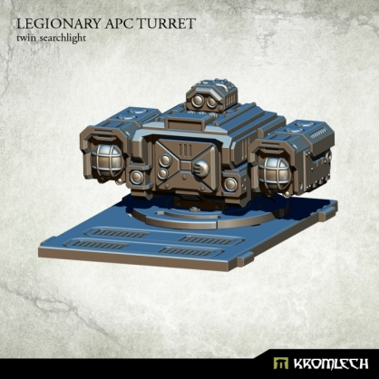 Legionary APC turret: Twin Searchlight
