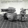 Legionary Heavy Weapon Platform: Quad Lascannon