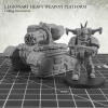 Legionary Heavy Weapon Platform: Gatling Autocannon