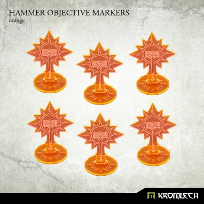 Hammer Objective Markers [orange]