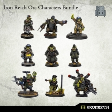 Iron Reich Orc Characters Bundle