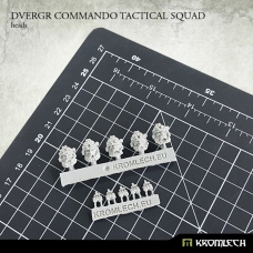 Dvergr Commando Tactical Squad Heads