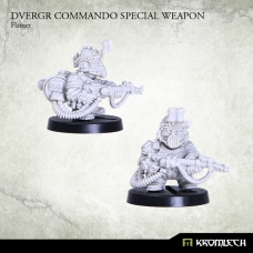 Dvergr Commando Special Weapon : Flamer
