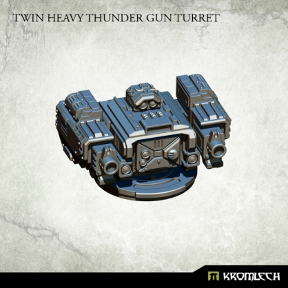 Twin Heavy Thunder Gun Turret