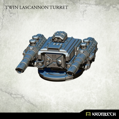 Twin Lascannon Turret
