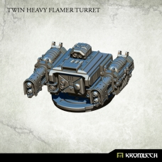 Twin Heavy Flamer Turret